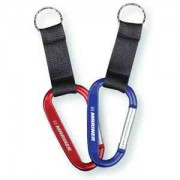 Carabiner with Strap